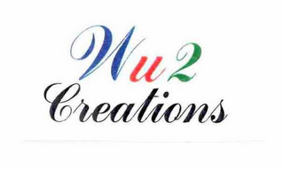 mark for WU 2 CREATIONS, trademark #76682822