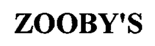 mark for ZOOBY'S, trademark #76683579