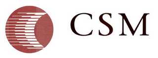 mark for CSM, trademark #76684066