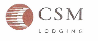 mark for CSM LODGING, trademark #76684313