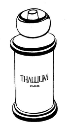 mark for THALLIUM PARIS, trademark #76685838
