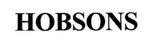 mark for HOBSONS, trademark #76687181