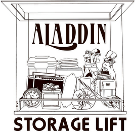 mark for ALADDIN STORAGE LIFT, trademark #76688742