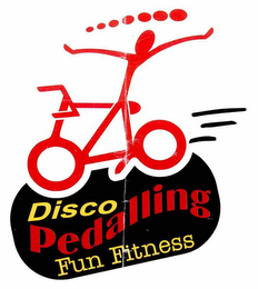 mark for DISCO PEDALLING FUN FITNESS, trademark #76695851