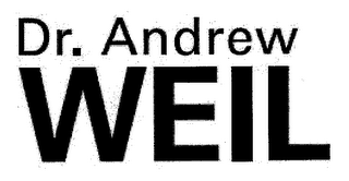 mark for DR. ANDREW WEIL, trademark #76698689