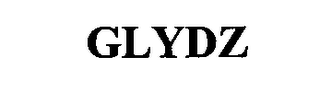 mark for GLYDZ, trademark #76699058