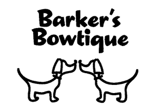 mark for BARKER'S BOWTIQUE, trademark #76699242