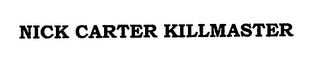 mark for NICK CARTER KILLMASTER, trademark #76701217