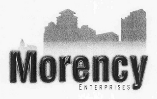 mark for MORENCY ENTERPRISES, trademark #76702552