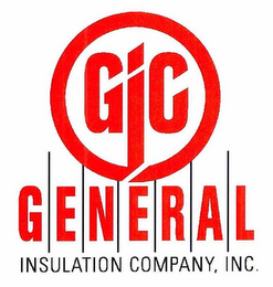 mark for GIC G E N E R A L INSULATION COMPANY, INC., trademark #76705243