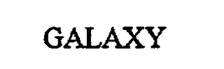 mark for GALAXY, trademark #76707217