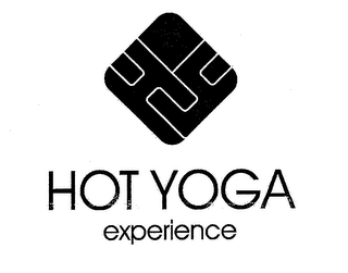 mark for HY HOT YOGA EXPERIENCE, trademark #76707390