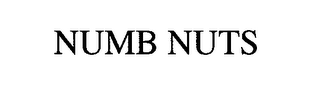 mark for NUMB NUTS, trademark #76707394