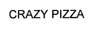 mark for CRAZY PIZZA, trademark #76708227