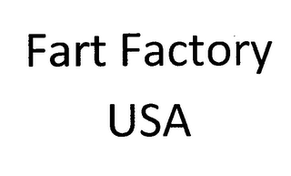 mark for FART FACTORY USA, trademark #76708278