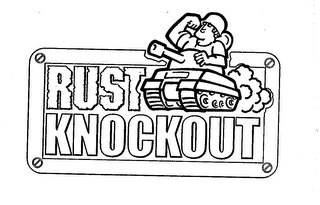 mark for RUST KNOCKOUT, trademark #76708648