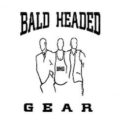 mark for BALD HEADED G E A R BHG, trademark #76709046