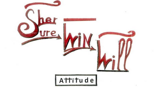 mark for HER SURE WIN WILL ATTITUDE OUR INCREDIBLE ATTITUDE MOVES STRENGTH/ RESISTANCE, trademark #76709546