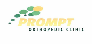 mark for PROMPT ORTHOPEDIC CLINIC, trademark #76711029