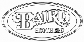 mark for BAIRD BROTHERS, trademark #76711144