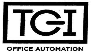 mark for TGI OFFICE AUTOMATION, trademark #76711186