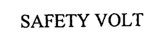 mark for SAFETY VOLT, trademark #76711247