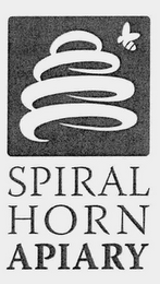 mark for SPIRAL HORN APIARY, trademark #76711334