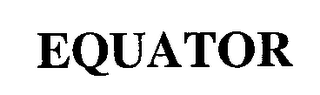 mark for EQUATOR, trademark #76711525