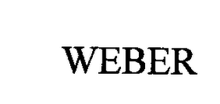 mark for WEBER, trademark #76711566