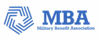 mark for MBA MILITARY BENEFIT ASSOCIATION, trademark #76711830