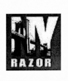 mark for NY RAZOR, trademark #76712344