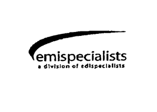 mark for EMISPECIALISTS, trademark #76712561