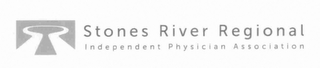mark for STONES RIVER REGIONAL INDEPENDENT PHYSICIAN ASSOCIATION, trademark #76712733