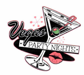 mark for · VEGAS PARTY NIGHTS ·, trademark #76713175