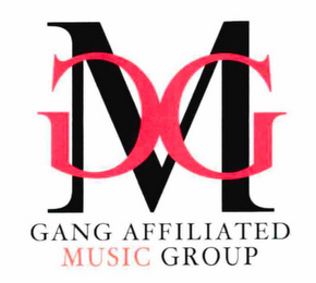 mark for GANG AFFILIATED MUSIC GROUP GMG, trademark #76713326