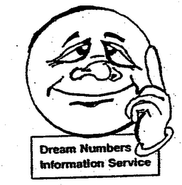 mark for DREAM NUMBERS INFORMATION SERVICE, trademark #76713363