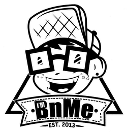 mark for I'M BNME EST. 2013, trademark #76713475