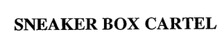 mark for SNEAKER BOX CARTEL, trademark #76713484