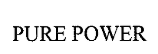 mark for PURE POWER, trademark #76713628