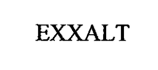 mark for EXXALT, trademark #76713691
