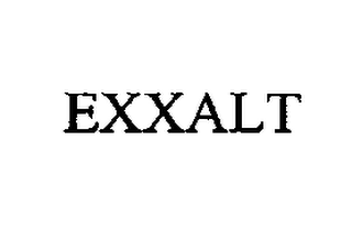 mark for EXXALT, trademark #76713692