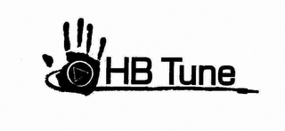 mark for HB TUNE, trademark #76713714