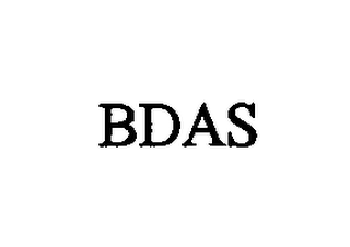 mark for BDAS, trademark #76714169