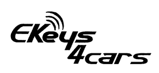mark for EKEYS4CARS, trademark #76714203