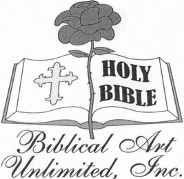 mark for HOLY BIBLE BIBLICAL ART UNLIMITED, INC., trademark #76714291