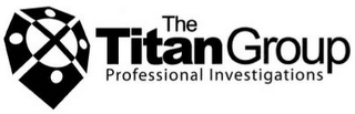 mark for THE TITAN GROUP PROFESSIONAL INVESTIGATIONS, trademark #76714293