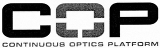 mark for COP CONTINUOUS OPTICS PLATFORM, trademark #76714390