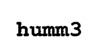 mark for HUMM3, trademark #76719687