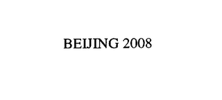 mark for BEIJING 2008, trademark #76975105