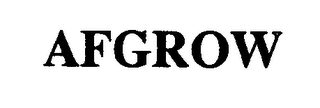 mark for AFGROW, trademark #76975209